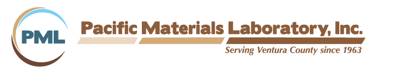 Pacific Materials Laboratory, Inc. (PML), serving Ventura County since 1963.